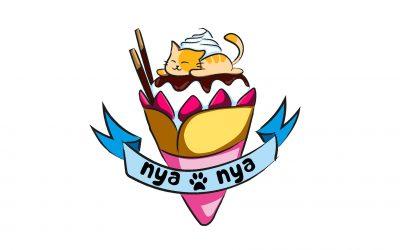 Logo Nya Nya Crêpes